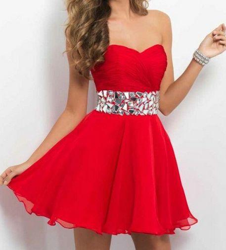společenské šaty » krátké společenské » krátké skladem » krátké červené 5334b23fd51
